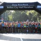 Deep RiverRock Belfast City Half Marathon. Photo by Declan Roughan / Press Eye
