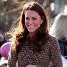 Royal favourite: the Duchess of Cambridge wears Orla Kiely