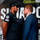 Face off: Anthony Joshua and Alexander Povetkin