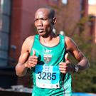 Man to beat: Gideon Kipsang is back to defend his title