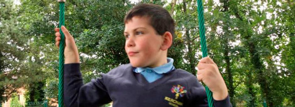 Eight-year-old Daniel Bradley, who died in Co Londonderry following a road crash on Thursday. Photo credit: Kilronan School/PA Wire