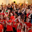 Culture Night got the people of Belfast on their feet for a whole host of performances — not least the largest ever tap dancing class at the Europa Hotel