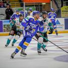 Belfast Giants lost out in Fife. Credit: Jillian McFarlane