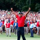 Tiger Woods is the 2018 TOUR Championship winner.