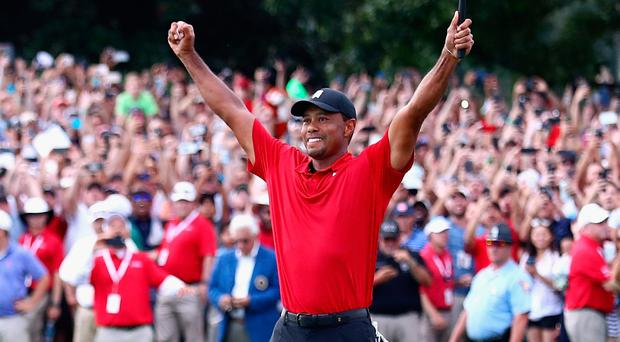 Woods wins: Five-year drought ends