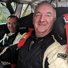 Winning way: Derek McGarrity, triumphant in the 2018 Northern Ireland Rally Championship with a round to spare