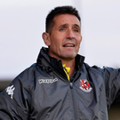 Pointing the way: Crusaders manager Stephen Baxter believes his side have the capability to bounce back