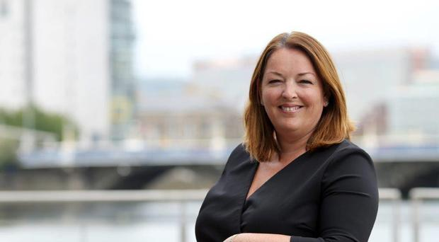Recruitment firm chief Tina McKenzie suggested Northern Ireland could become a free port after Brexit, the western hemisphere's Singapore. Grafton Recruitment/Handout/PA.