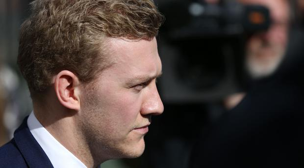 Stuart Olding was cleared of rape (Brian Lawless/PA)