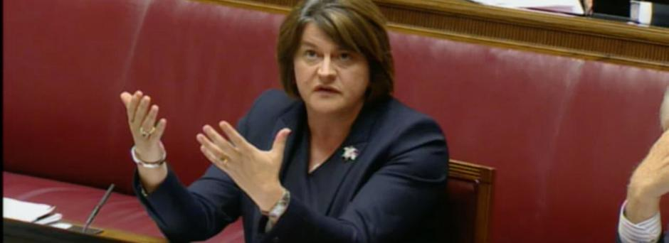 Arlene Foster gives evidence to the RHI Inquiry on September 25th 2018