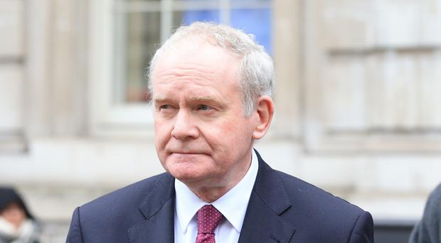 Mr McGuinness resigned as deputy First Minister in January 2017 in protest at the handling of the RHI scheme (Jonathan Brady/PA)