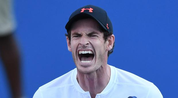 Andy Murray breaks commemorative plate ahead of comeback at Shenzhen Open