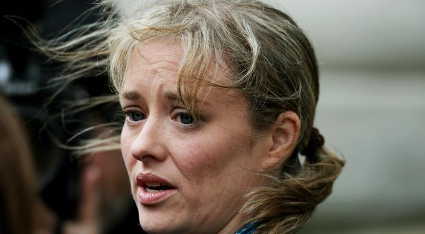 Mairia Cahill has claimed Sinn Fein covered up her allegations against one of its members (Brian Lawless/PA)