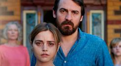 Jenna Coleman and Ewen Leslie in The Cry