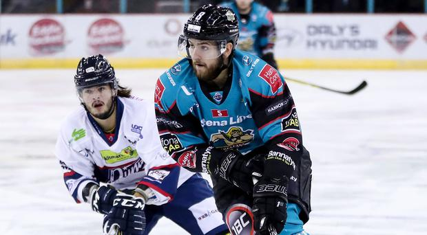 Giants forward Lewis Hook scored twice in the win over Dundee