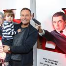 Press Eye - Belfast - Northern Ireland - 30th September 2018 - Stephen and Jake Whalley pictured at Movie House Dublin Road for a special preview screening of upcoming comedy, JOHNNY ENGLISH STRIKES AGAIN, in cinemas across Northern Ireland from Friday 5th October. Photo by Kelvin Boyes / Press Eye.