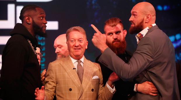 Deontay Wilder 'doesn't have anything I'm afraid of' says Tyson Fury