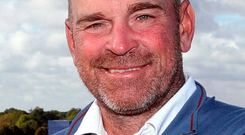 Europe's captain Thomas Bjorn