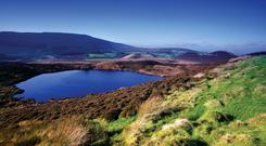 The Gortin Glens Forest Park, 16 kilometres (10 miles) north of Omagh is a large forest with many attractions, including a deer enclosure and many areas of natural beauty, including waterfalls, lakes, etc.