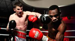 Packs punch: Tyrone McCullagh tops the bill for the first time tonight