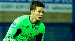 Safe hands: Sam Johnston has been impressive for Ards
