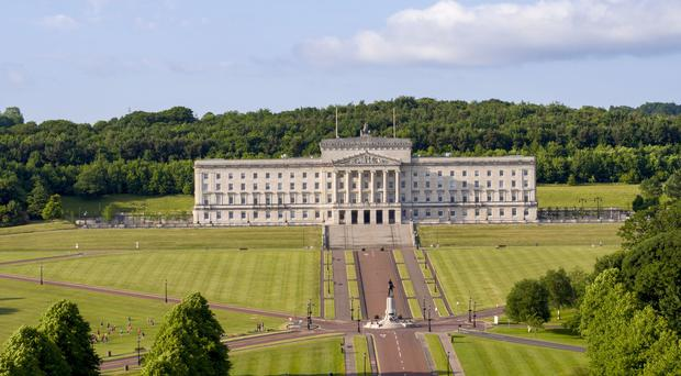 The SDLP and Sinn Fein have said Stormont's Assembly should not have a say over the Brexit backstop. Steve Parsons/PA.