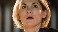 Doctor's orders: Jodie Whittaker as The Doctor in the new series