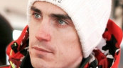 Losing ground: Craig Breen is in sixth place after first day