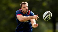 Firm focus: Tadhg Beirne is determined to succeed at Munster