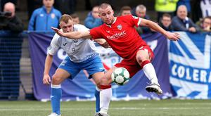 Rallying call: Stephen Lowry wants the Bannsiders to get back on the winning path