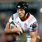 Marching on: Angus Curtis is looking for a big performance from Ulster against Leicester Tigers