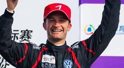 Watch me: Colin Turkington set the fastest lap at Wuhan