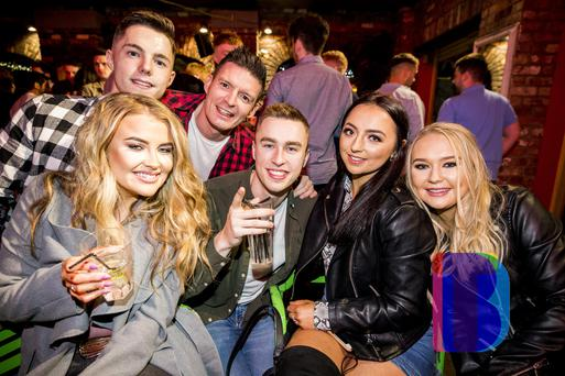 People out at Filthy McNastys. Saturday 6th October 2018. Picture by Liam McBurney/RAZORPIX