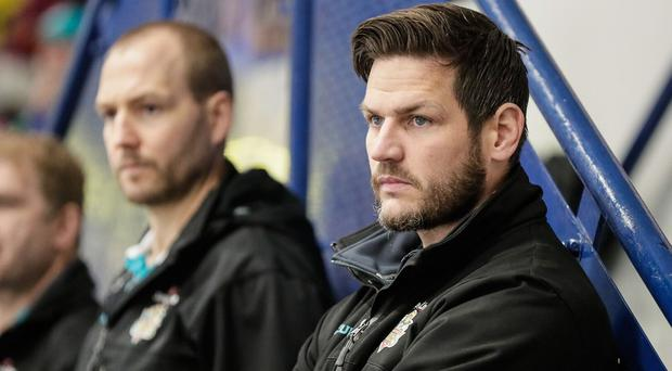 Head coach Adam Keefe is delighted to see his side return to form; Pic: Scott Wiggins