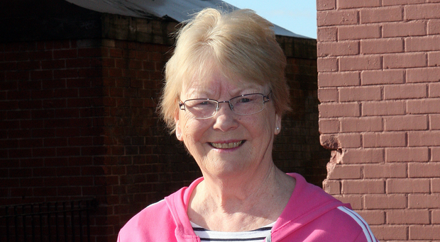 Feeling fit: Bridget Maguire is involved in activities at the Maureen Sheehan Centre in Belfast