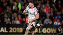 Positive approach: Nick Timoney has warned against overreacting to Ulster's recent losses