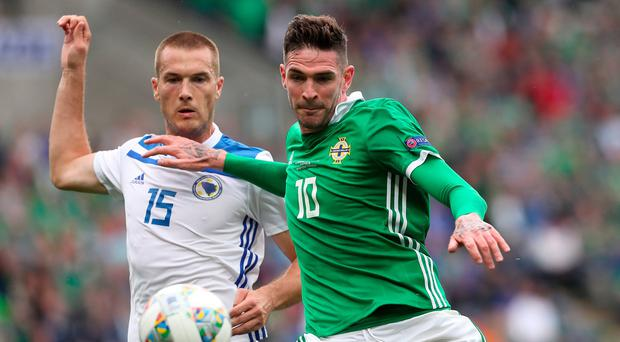 Kyle Lafferty rules himself out of Northern Ireland Nations League games