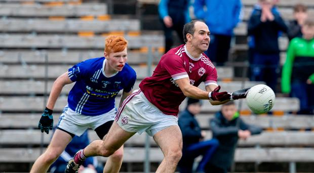 Throwback: Ballybay's Paul Finlay and Ryan O'Toole of Scotstown in action during Sunday's game