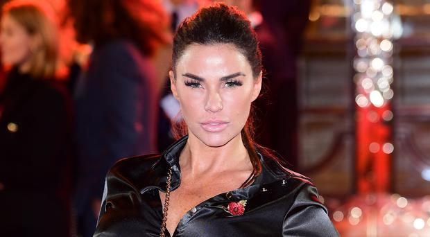 Katie Price released under investigation following arrest (Ian West/PA)