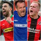 Joe Gormley, Glenn Ferguson and Jordan Owens all make Billy's list.