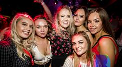 People out for Bot Wednesdays. 10th October 2018. Picture by Liam McBurney/RAZORPIX