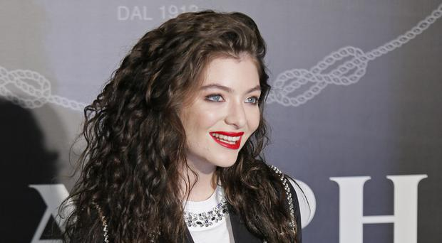 Singer Lorde cancelled a performance in Israel (Vincent Yu/AP)
