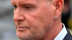 Problems: Paul Gascoigne