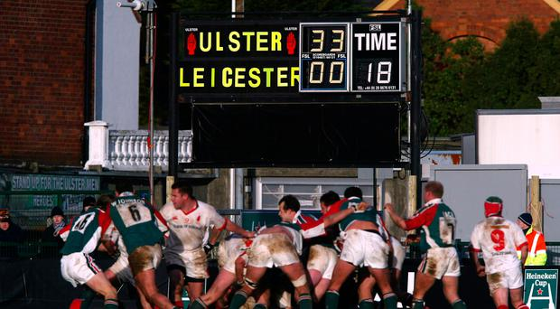 Tiger feat: a flashback to 2004 and Ulster's sensational defeat of Leicester Tigers