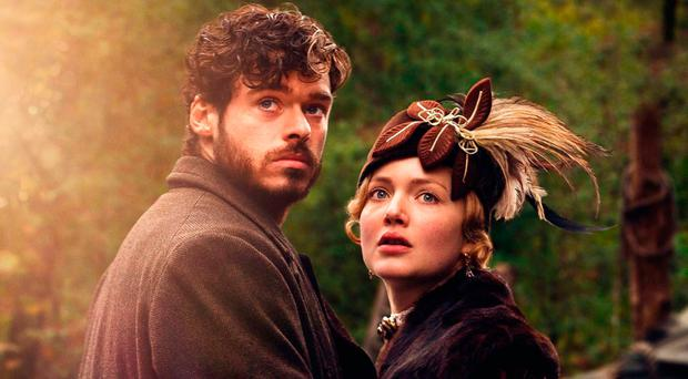 Passionate tale: Richard Madden and Holliday Grainger in a recent TV adaptation of the classic novel by DH Lawrence