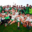 Positive performance: Burren bounced back from final defeat last year to take title