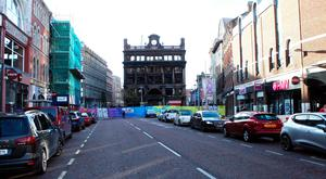 Primark in Belfast after the fire