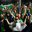 Northern Ireland's GAWA travelled in numbers to Bosnia and are likely to do the same when their side take on Holland in Rotterdam.