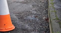 Investment in roads has been delayed