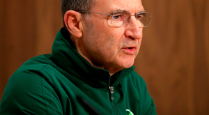 Needs a result: Republic of Ireland boss Martin O'Neill speaks to the media